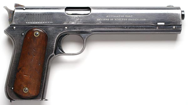 Colt Model 1900 Sight Safety .38 ACP - Right Side